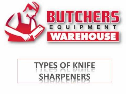 Types Of Butchers Equipment Knife Sharpeners
