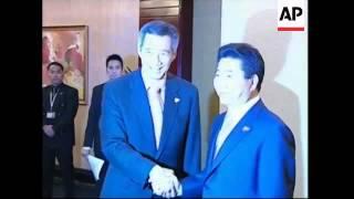 China, Japan, SKorea talks on sidelines of ASEAN summit