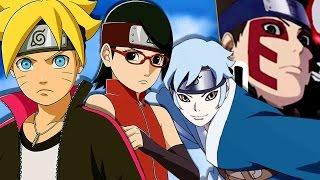 Top 15 Strongest New Generation Kids - Naruto Boruto Spin-Off 2016 ナルト