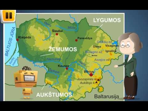 Lietuva žemėlapiuose www.ismaniejirobotai.lt 1-4 klasei .Dirba ir planšetėse