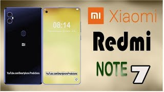 Xiaomi Redmi Note 7 Introduction - Price, 5G Network, Specs, Release Date (Concept)