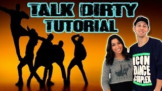 TALK DIRTY - Jason Derulo Dance TUTORIAL | @MattSteffanina Choreography (Hip Hop Routine)