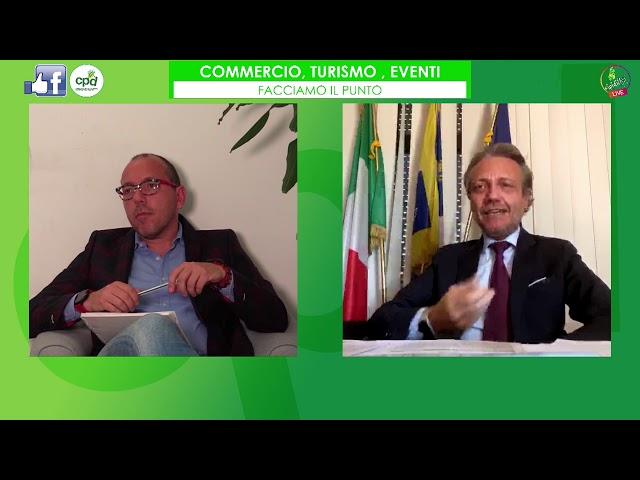 Turismo, commercio eventi. Incontro con Alberto Sacco, Assessore al Commercio