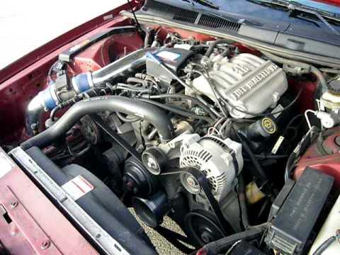 1997 Ford Thunderbird Engine Rev Youtube