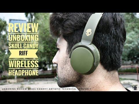 Skullcandy Riff Wireless Headphone Unboxing   Tech Review   Artistic Vlogs