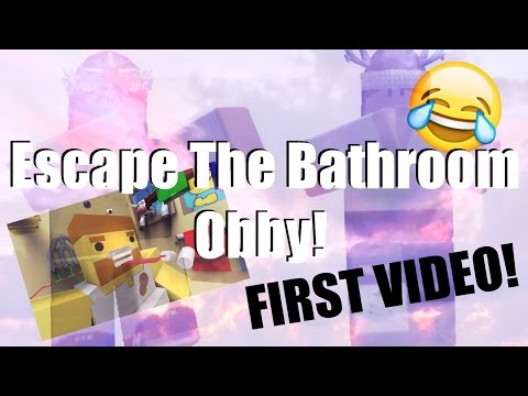 Escape The Bathroom Obby gameplay escape the bathroom obby roblox obby from youtube