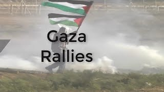 #Palestine Clashes escalate at deadly Gaza protest,Israel kills 2 Palestinians