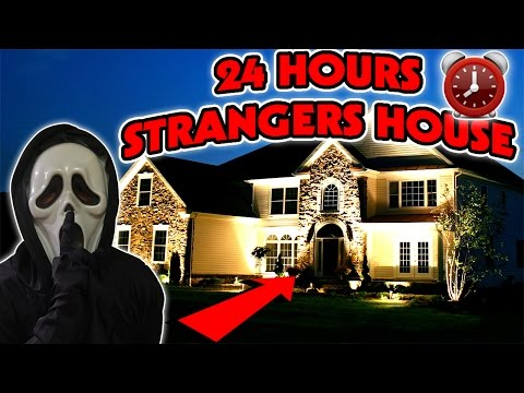 24 HOUR OVERNIGHT at a STRANGERS HOUSE | HIDING IN A STRANGE