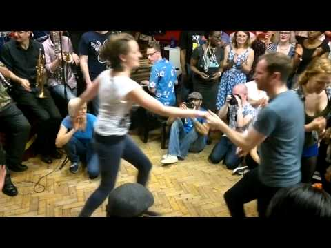 Swing Dancing at the London Lindy Exchange 2015