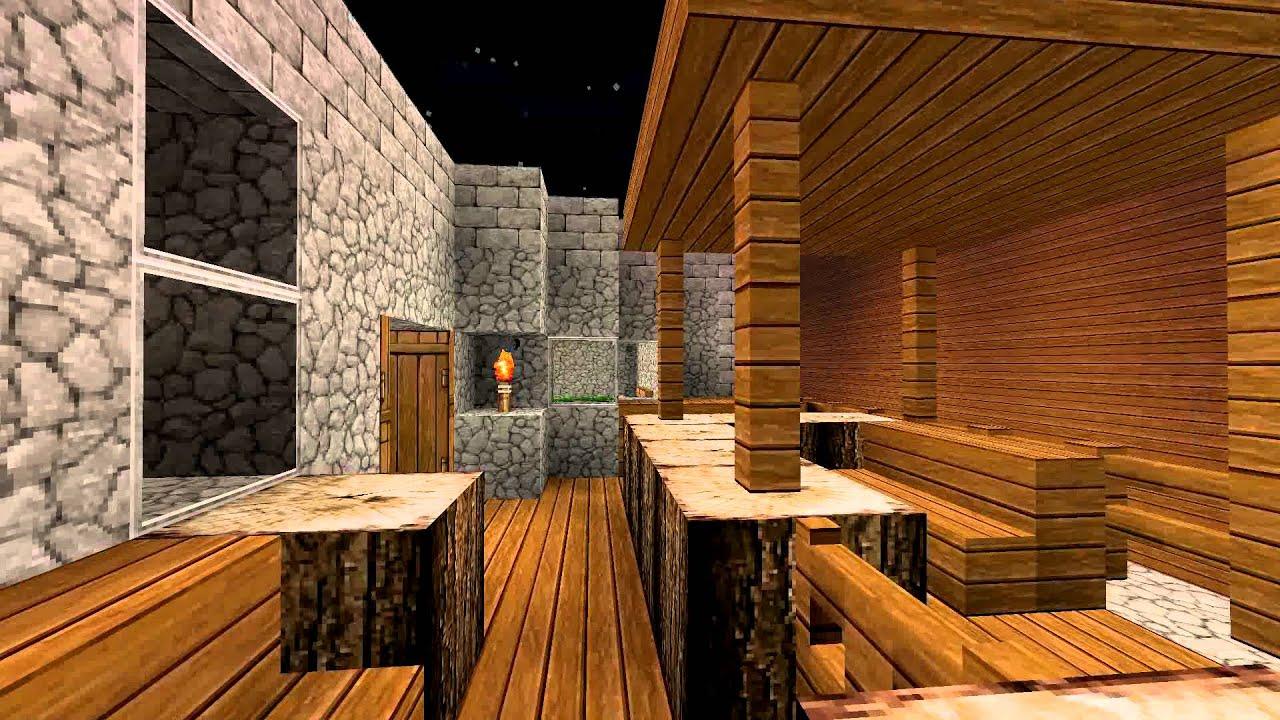 Minecraft Einrichtung YouTube - Minecraft haus inneneinrichtung ideen