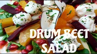 DRUM BEET SALAD / Interview with Amanda Huang of Earth Made Kitchen