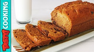 Honey Loaf Cake Recipe With Dates And Peanuts 🍰 Tasty Cooking