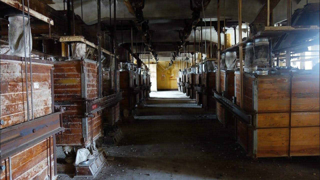 Opuszczony Kompleks Młyński