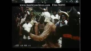 Traditional Dancing In Jamaica, 1950s - Film 96893