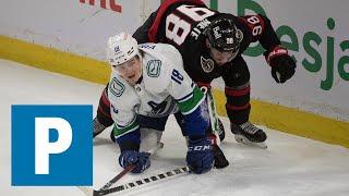 Coach Travis Green on Canucks 2-1 loss to the Ottawa Senators   The Province