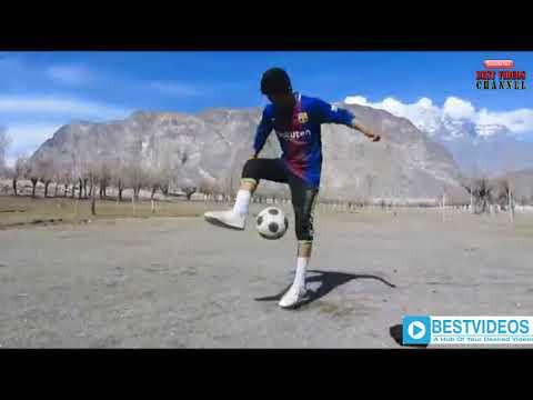 The Most Beautiful Football Freestyle Skills & Tricks ★ || Qaisar Abbas|| From Gilgit Baltistan