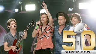 One Direction Performing At The Super Bowl Halftime Show?!