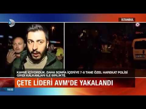 Şirinler Çetesi lideri Mehmet Sabri Şirin Bahçelievler'de AVM'de yakalandı.