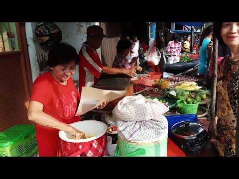 KAGET!!! DI PASAR INI BANYAK KULINER MURAH DAN ENAK!!! INDONESIAN STREET FOODS
