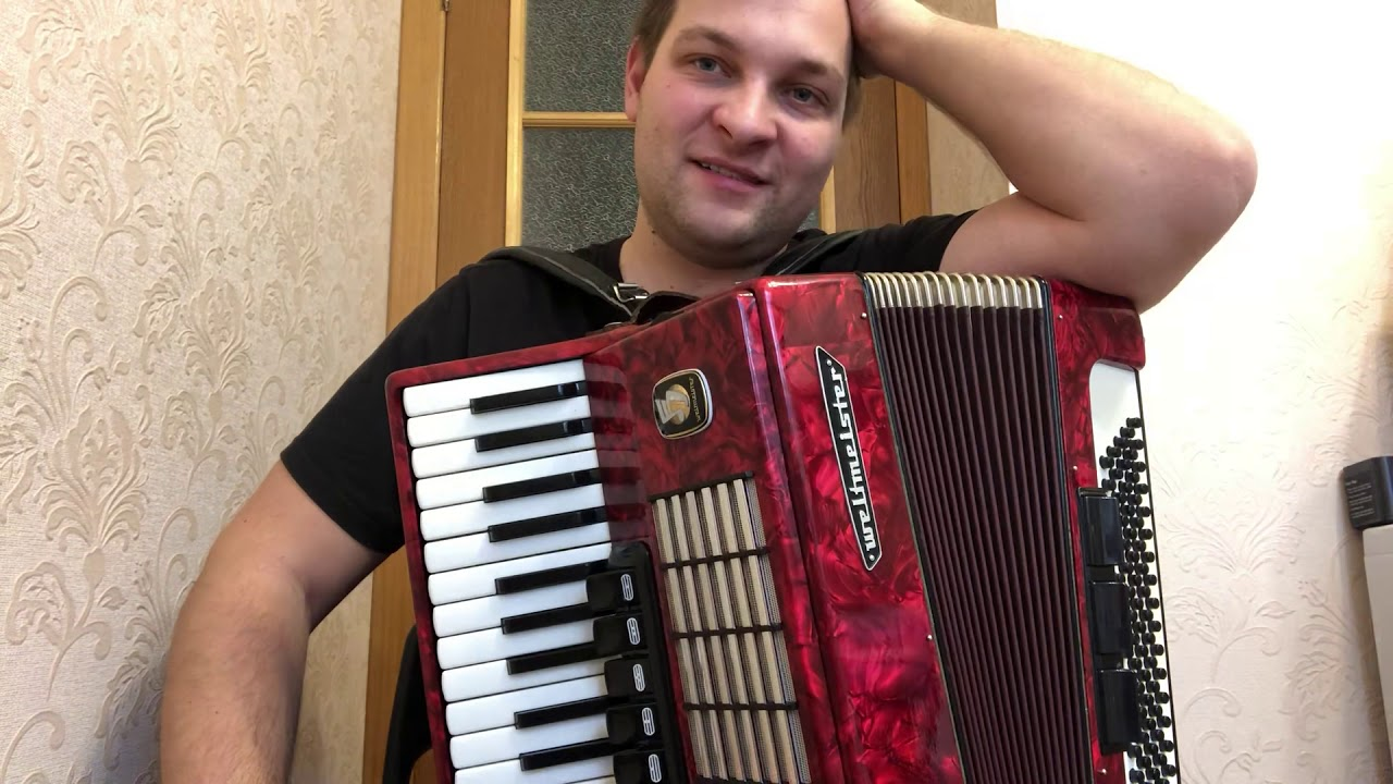Урок на аккордеоне «На сопках Маньчжурии» для Любови