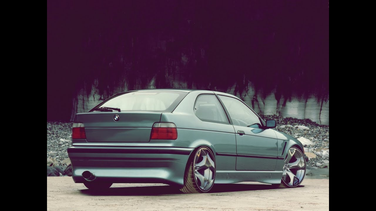 virtual tuning bmw e36 compact 24 youtube