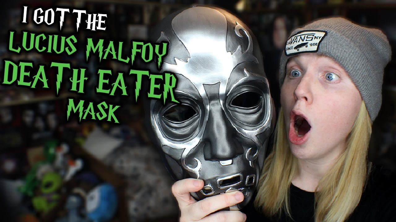 I GOT THE LUCIUS MALFOY DEATH EATER MASK! - YouTube