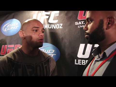 UFC 138: Thiago Alves post fight interview
