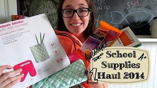 Back to School: School Supplies Haul 2014 Thumbnail