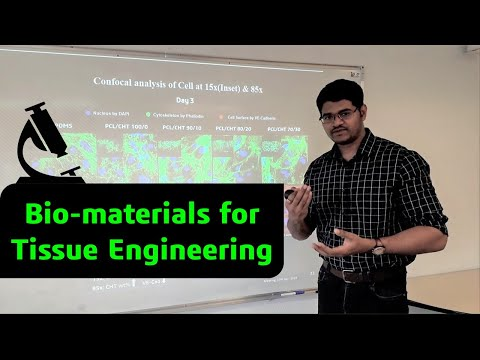 Biomaterials for tissue engineering-A New strategy on 3D cell culture - Best HD presentation (2019)