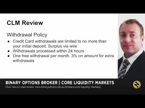 Core Liquidity Markets Review   Demo, Deposit & Withdrawal - Keith Allen