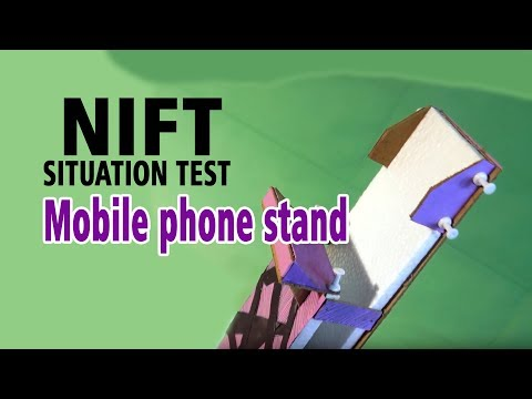 Mobile phone stand-2  (NIFT- SITUATION TEST)