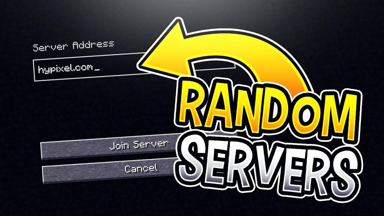 Joining Random Minecraft PvP Servers YouTube