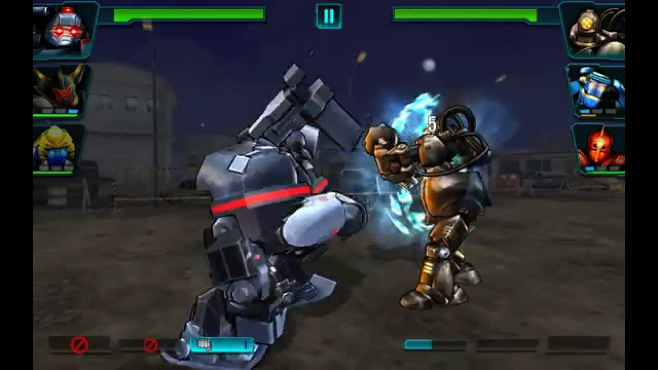 download ultimate robot fighting mod apk android