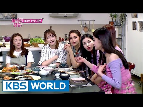 Mission! Let's study PRISTIN's mother's recipe with SF9! [Guesthouse Daughters / 2017.05.23]
