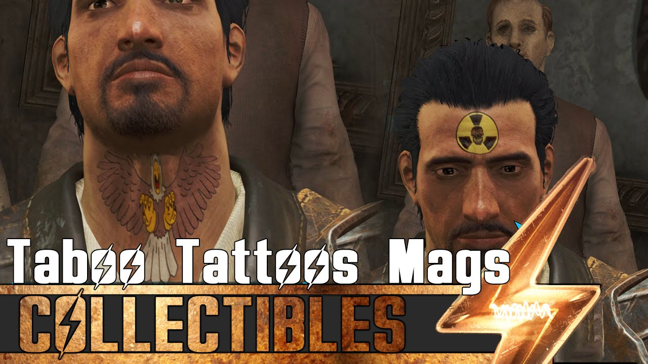 fallout 4 all taboo tattoos magazines locations guide