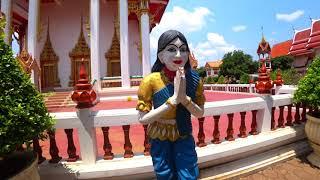 Пхукет.  Ват Чалонг. Обзорная экскурсия по райскому острову. Тайланд 2020.