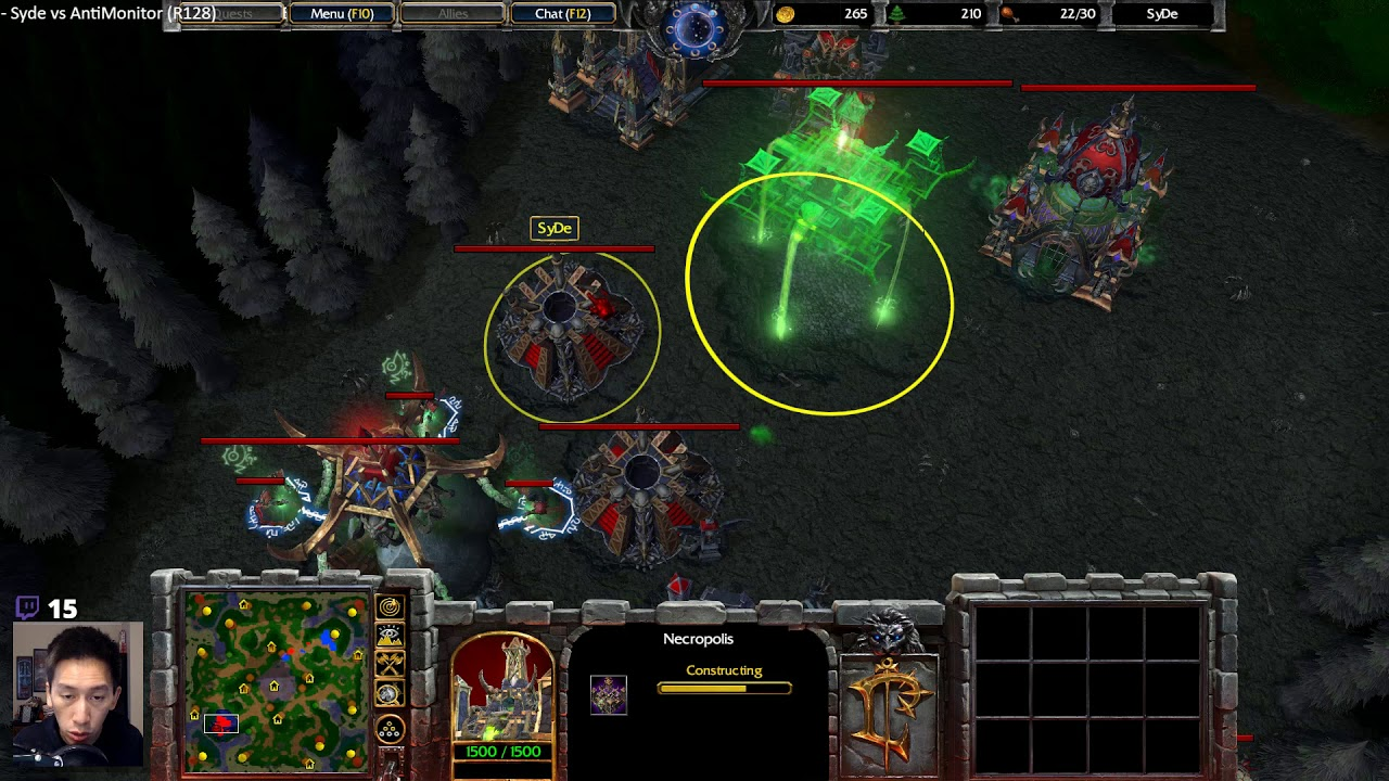 Syde Ud Vs Antimonitor Hu Warcraft Reforged Esl Open Cup 2