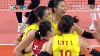 亚运会女排小组赛:韩国VS中国超清版