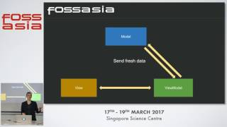 MVVM architecture with Data Bindings - Denis Nek - FOSSASIA Summit 2017