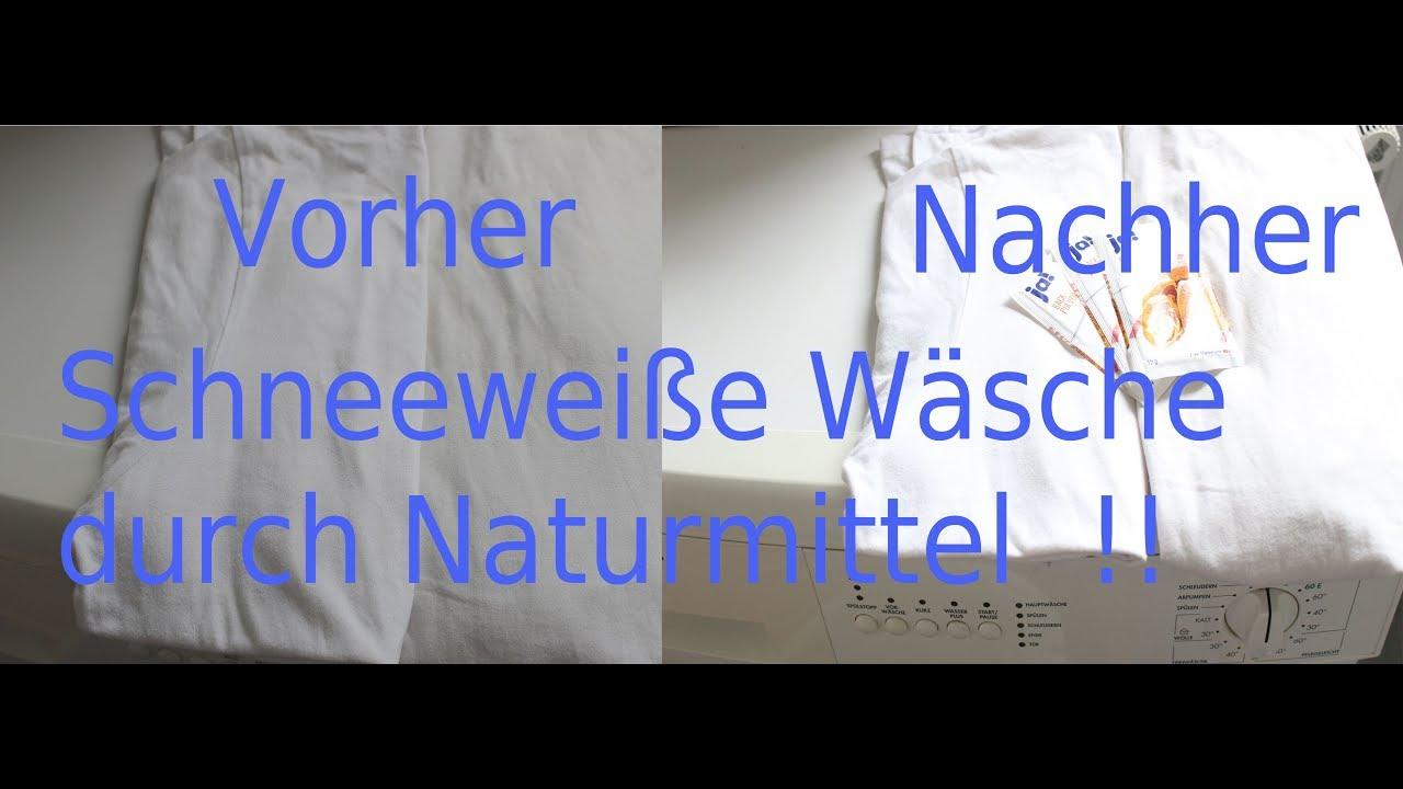 Tipps Tricks Für Schneeweiße Wäsche Mit Naturmittel Beaming White Lingerie By Baking Powder