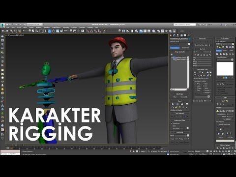 3ds Max ile Karakter Rigging / Biped Animasyonu