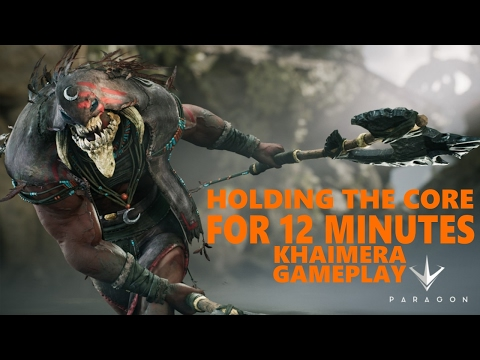 HOLDING THE CORE FOR 12 MINUTES! - PARAGON (Paragon Gameplay)