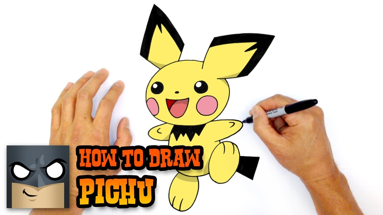 How to Draw Pichu | Pokemon - YouTube