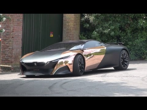 2004 peugeot 907 supercar concept promotional video doovi for Peugeot 907 interieur