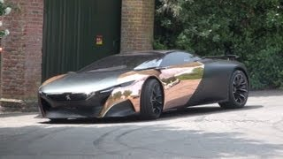 Peugeot ONYX driving @ Goodwood FoS