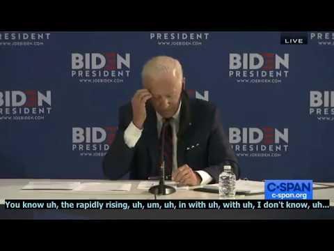 [2020 Presidental Crapshow] Biden stumbling on C-Span