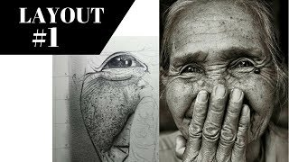 How to draw Realistic Skin Texture & Pores by | by artist  channel
