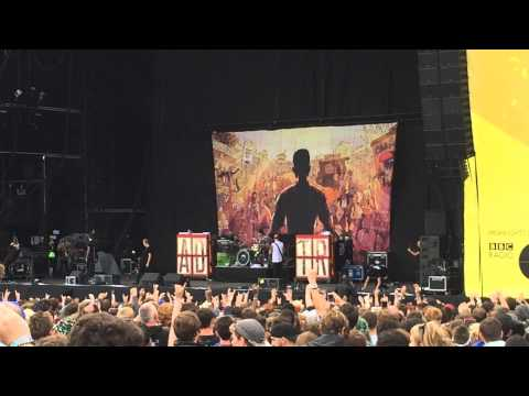 (HD) A Day To Remember - intro + downfall of us all  live at leeds festival 2014 UK