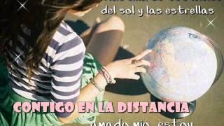Cristina Aguilera- Contigo en la distancia LETRA ♫♥