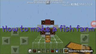 Video HOW TO MAKE A FISH FARM//Mcpe//Redstone download MP3, 3GP, MP4, WEBM, AVI, FLV April 2018